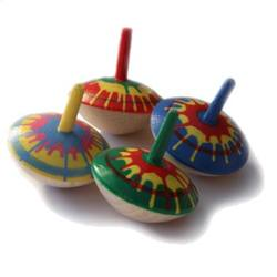 Buy Grunspecht  Wooden Spinning Top - Hand-painted 35mm in AU Australia.