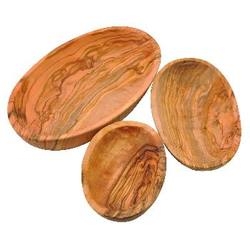 Buy Olive Wood Oval Dish Set of 3 SPECIAL ORDER in AU Australia.