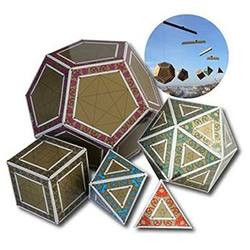 Buy AstroMedia Platonic Solids Kit in AU Australia.