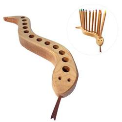 Buy Drei Blatter Wooden Pencil Holder Snake NEW in AU Australia.