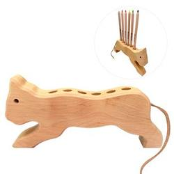 Buy Drei Blatter Wooden Pencil Holder Cat in AU Australia.