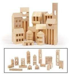 Buy Varis Toys Town Builder - 107 pcs  SAVE 30% in AU Australia.