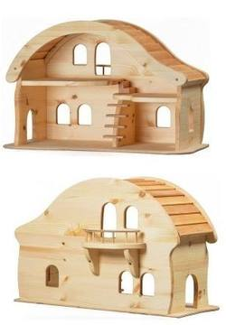 Buy Verneuer Wooden Doll House w Balcony in AU Australia.