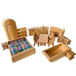 Buy Verneuer Wooden Doll House Furniture 19 pcs in AU Australia.