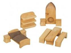 Buy Verneuer Wooden Doll House Furniture 9pcs in AU Australia.