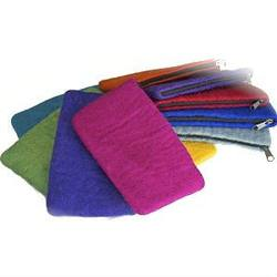Buy Felt Pencil Case w Zip-100% Wool Large 15x21cm in AU Australia.