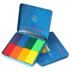 Buy Stockmar Wax Crayons w Pure Beeswax 8 Blocks in Tin Sydney Mix 34004 in AU Australia.