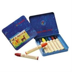 Buy Stockmar Wax Crayons w Pure Beeswax 8 Sticks in Tin w Black in AU Australia.