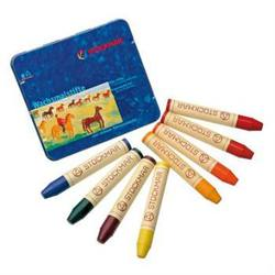 Buy Stockmar Wax Crayons w Pure Beeswax 8 Sticks in Tin Waldorf Mix in AU Australia.