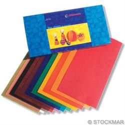 Buy Stockmar Decorating Wax Sheets 12 Ass Colours Large 10x20cm in AU Australia.