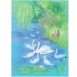 Buy Postcards- Swans on a Lake 5 pk SPECIAL ORDER in AU Australia.