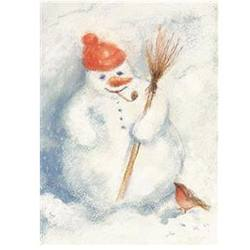 Buy Postcards- Snowman 5 pk SPECIAL ORDER in AU Australia.