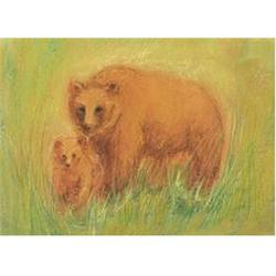 Buy Postcards- Bear and Cubs 5 pk SPECIAL ORDER in AU Australia.