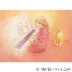 Buy Postcards- Piano and Cat 5 pk SPECIAL ORDER in AU Australia.