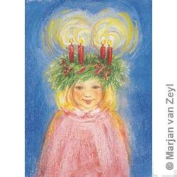Buy Postcards- Lucia's Advent Wreath 5 pk in AU Australia.