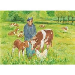Buy Postcards- Farmer and Cows 5 pk SPECIAL ORDER in AU Australia.