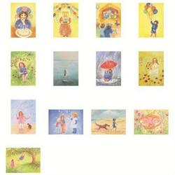 Buy Postcards 'Children Set 1'  assorted pk of 13 by Marjan van Zeyl in AU Australia.