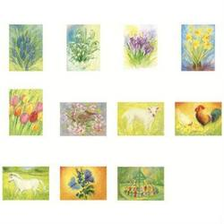 "Buy Postcards ""Spring / Summer Set 1""  assorted pk of 11 by Marjan van Zeyl in AU Australia."
