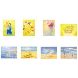 "Buy Postcards ""Spring / Summer Set 2""  assorted pk of 8 by Marjan van Zeyl in AU Australia."