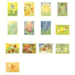 Buy Postcards 'Nature and Mythical Creatures'-  assorted pk of 13 postcards by Marjan van Zeyl in AU Australia.