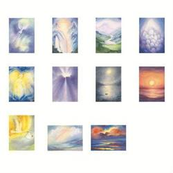 Buy Postcards 'Light and Mysticism'-  assorted pk of 11 postcards by Marjan van Zeyl in AU Australia.