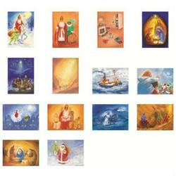 Buy Postcards 'Seasons and Festivals Set 2'  assorted pk of 14 by Marjan van Zeyl in AU Australia.