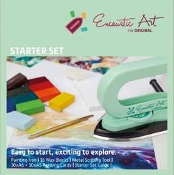 Buy Encaustic Hot Wax Art Kit - Starter pk w Iron in AU Australia.