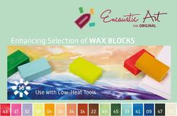 Buy Encaustic Hot Wax Art Blocks Assortment of 16 Blocks -  Enhancing Selection in AU Australia.