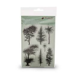 Buy Encaustic Hot Wax Art Clear Stamp Set Nature in AU Australia.