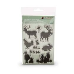 Buy Encaustic Hot Wax Art Clear Stamp Set Holiday Seasons in AU Australia.