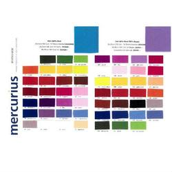 Buy Colour Chart w Sample showing 100% Wool and 50-50% Wool/Rayon Felt in AU Australia.