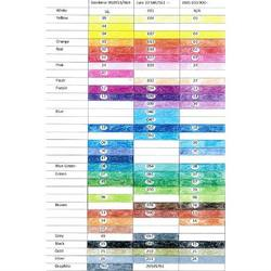 Buy Colour Chart comparing Stockmar AMS and Lyra Pencils in AU Australia.